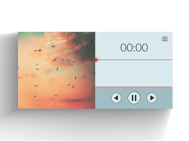 Music Visualizer.