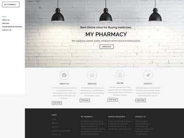 MyPharmacy WordPress