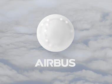 AR Airbus Digital Logo