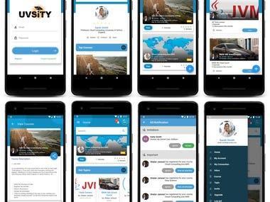 UVSiTY : Flutter app
