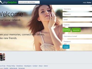Web Template Development - HTML/CSS/JQuery