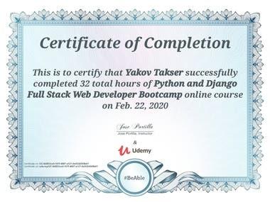 Full Stack Developer Certification in Html, Css, Javascript,