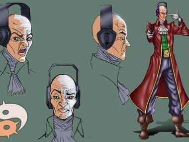 Mr Joe Diseño de Personaje Expresiones | Character Design Ex