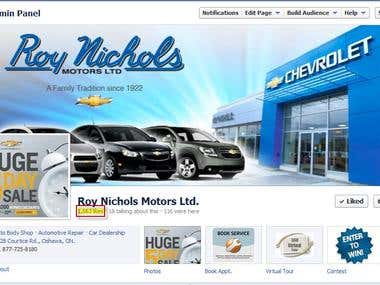 Social Media Management - Automotive