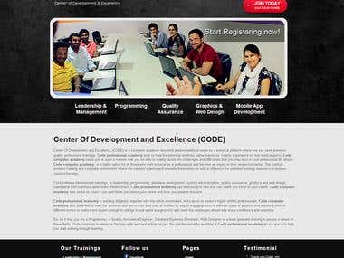 Center Of Development and Excellence Computer Academy