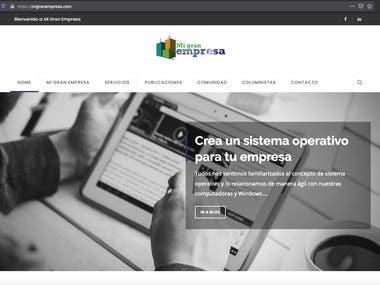 Mi Gran Empresa - Corporate Blog