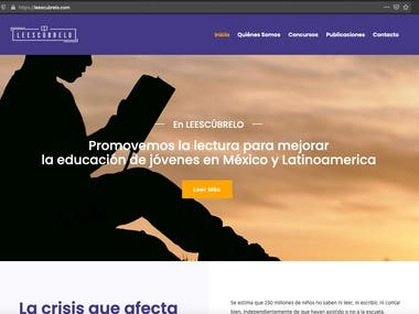 Leescubrelo Website Reading Contests