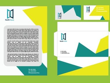 Vector Design / Visiting Card / Letter Head / All About Vec