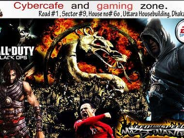 poster for gaming Zone