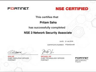 NSE 3 Network Security Associate