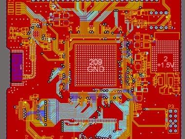 NSOP Processing custom board