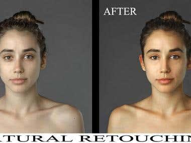 Natural retouching