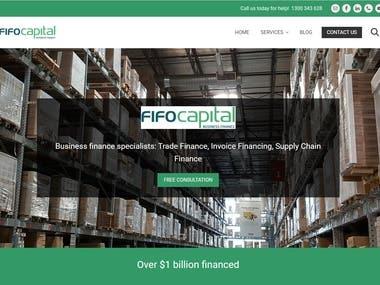 Financial Web App
