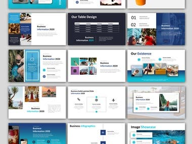 Professional Trendy powerpoint template