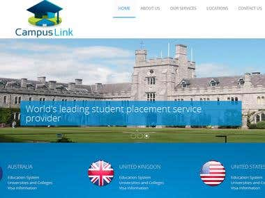 Campus Link Website
