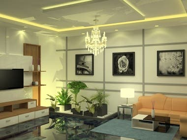 Interior Designing,3D modeling,Texturing,Rendering
