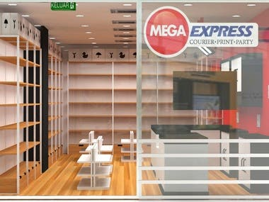 Xpress Courier office Design