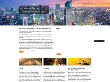 Indonesia Energy Corporation Website