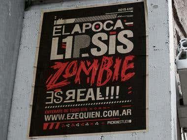 Ezequien? - Music festival Flyer