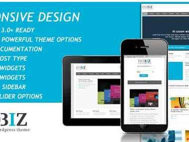 DoBiz -WP Business theme