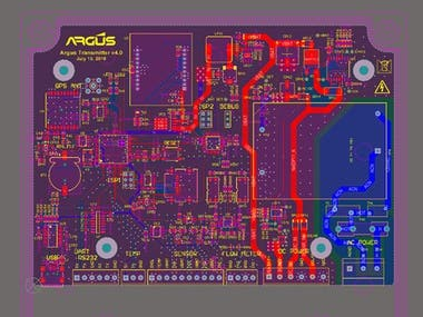 4) Cellular Multi-Sensor Data Transceiver