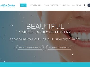 Beautiful family smiles dentistry