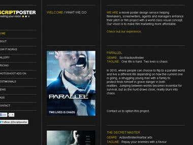 Company tagline and SEO website copy
