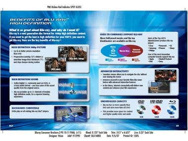Consumer brochure copywriting