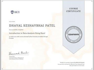 3 Certification