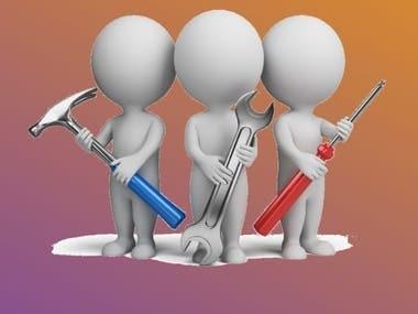 The Simple Complain & AMC Service Management Application