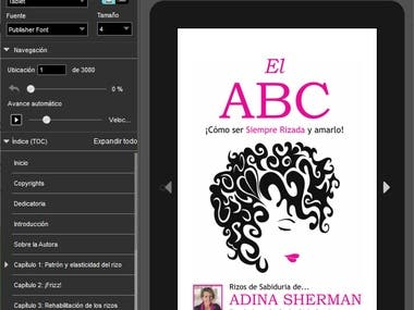 Spanish Hairstyle ebook for Amazon
