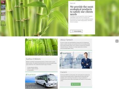 Tantech Holdings Website