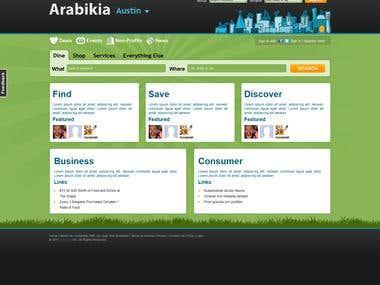 Groupon clone & Business directory - Arabikia