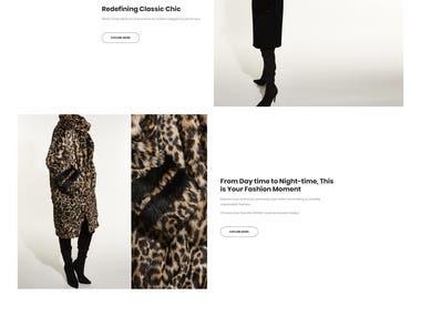 US Women's Brand Shopping Site (Social Media Marketing)