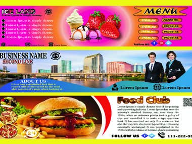 I will Design Professional And Attractive Web Banner.