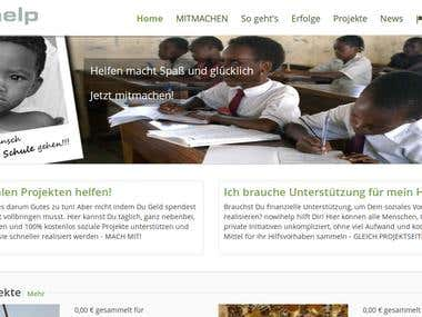 nowIhelp Crowdfunding platform