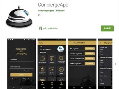 Concierge App