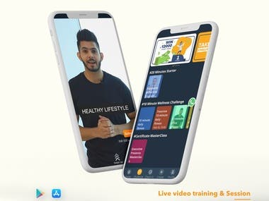 Live Video Class App