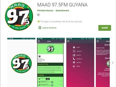 Android Online Radio streaming