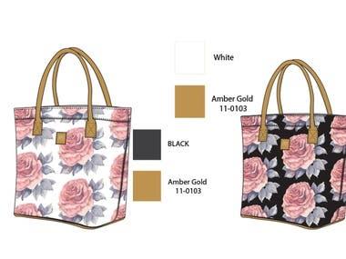 Tech Bag of Tote Bag Design