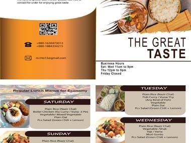 I will design a business card, brochure, logo, flyer