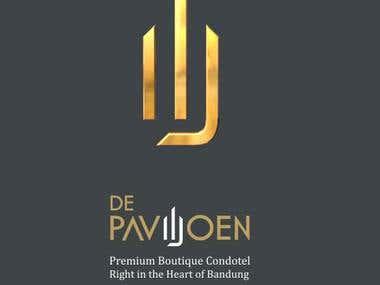 DePaviljoen Logo Design