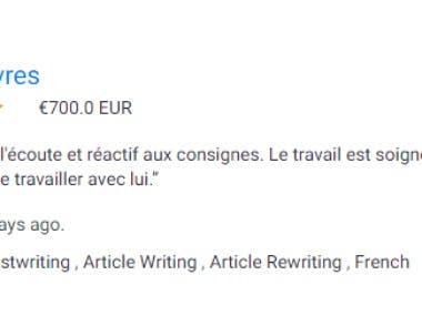 rédaction d'un ebook