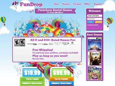 Fun Drop Website