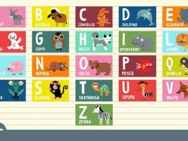 Children's Alphabet Learning App