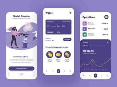 Wallet Balance App