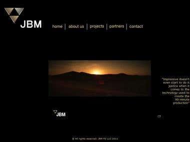 J.B.M. Media (HTML/XML/Flash Website Design)