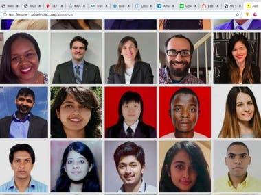 My Online work with diverse team