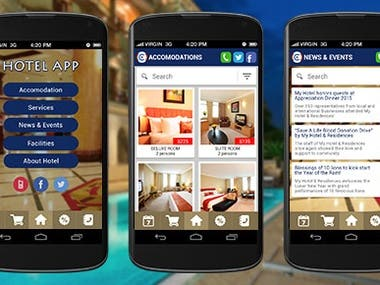 React Native  Hotel Booking App