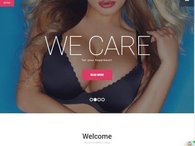 Angular, Laravel   Dating Site